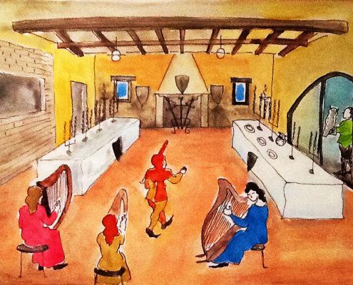 Ricostruzioni e ambientazioni medievali